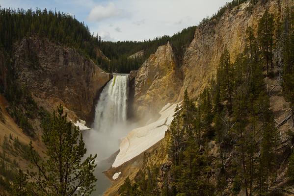 Lower Falls, Grand Canyon of the Yellowstone, Yellowstone National Park