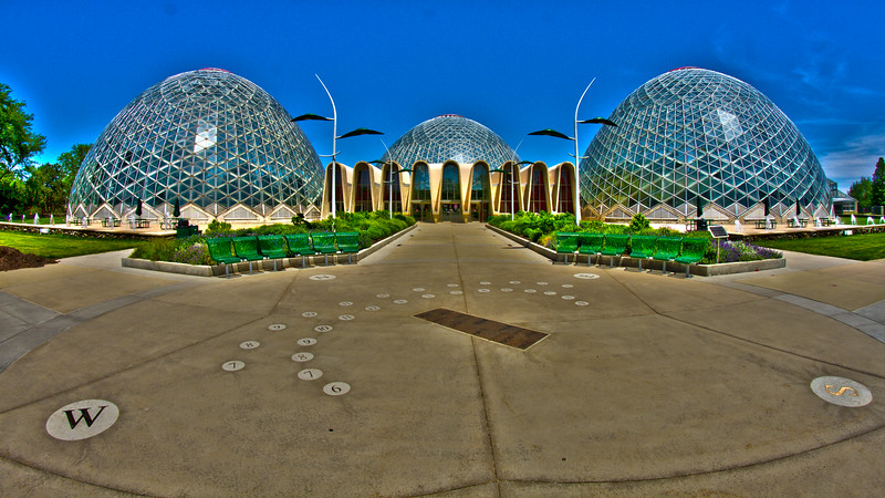 Mitchell Park Domes - Milwaukee, Wisconsin