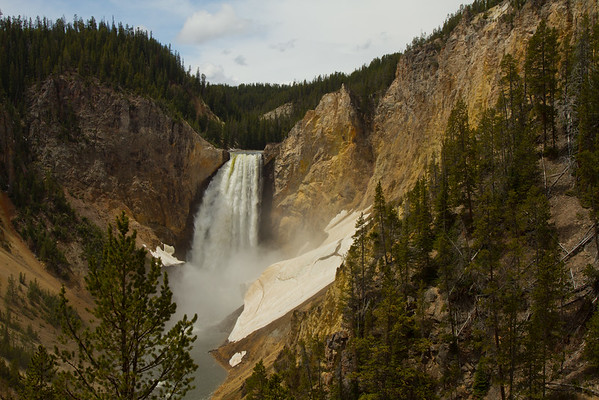 Lower Falls, Grand Canyon of the Yellowstone, Yellowstone National Park